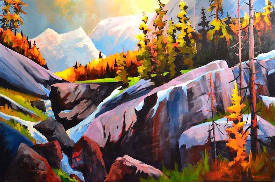 Opabin Plateau Hike by  Branko Marjanovic - Masterpiece Online