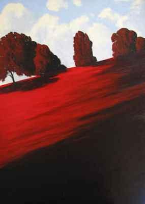 Crimson Afternoon by  Donald  Craghead - Masterpiece Online