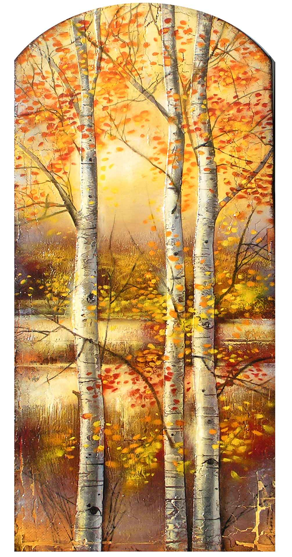 Tall Aspen  by  Cary Henrie