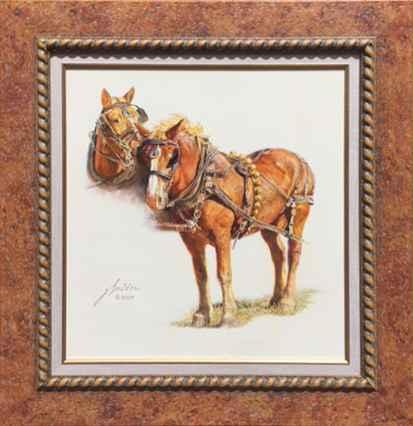 The Belgians by  Gordon Snidow - Masterpiece Online
