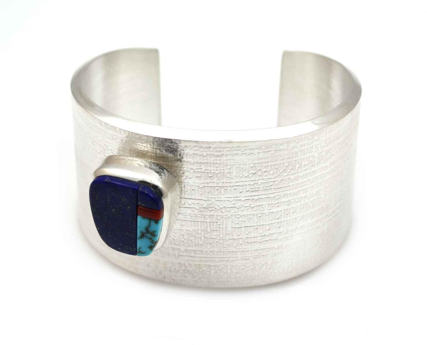 Inlay Cuff Bracelet by  Chris Pruitt - Masterpiece Online