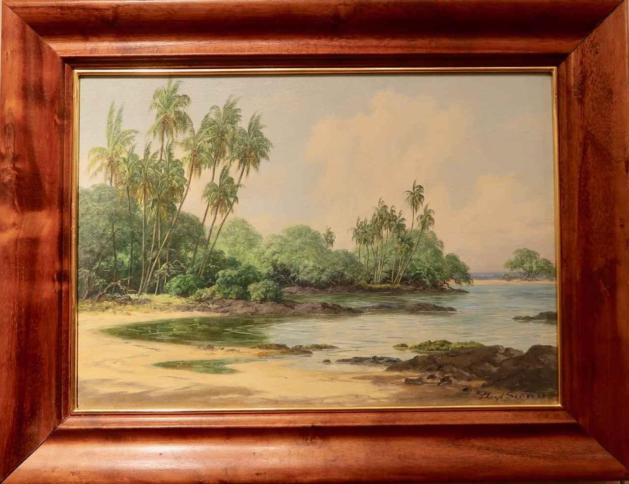 Pau'oa Coves by  Lloyd Sexton (1912–1990) - Masterpiece Online