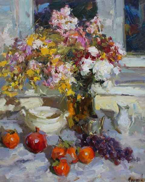 Flowers and Fruits by   Shabadei - Masterpiece Online