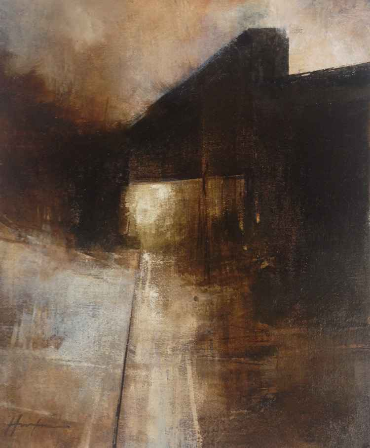 January Bridge (Verti... by  Charlie Hunter - Masterpiece Online