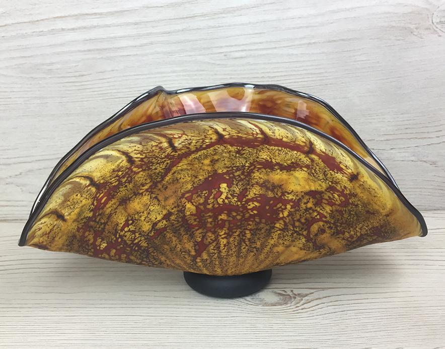 Small Primitive Shell, Topaz
