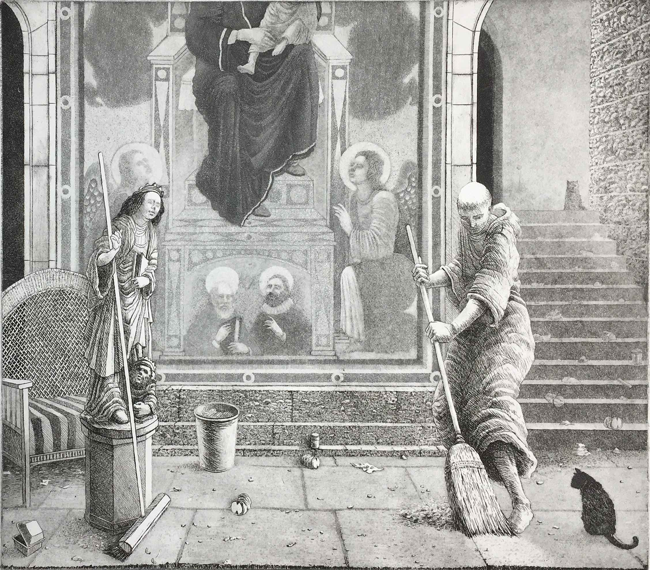 St. Francis Restores ... by  James Munce - Masterpiece Online