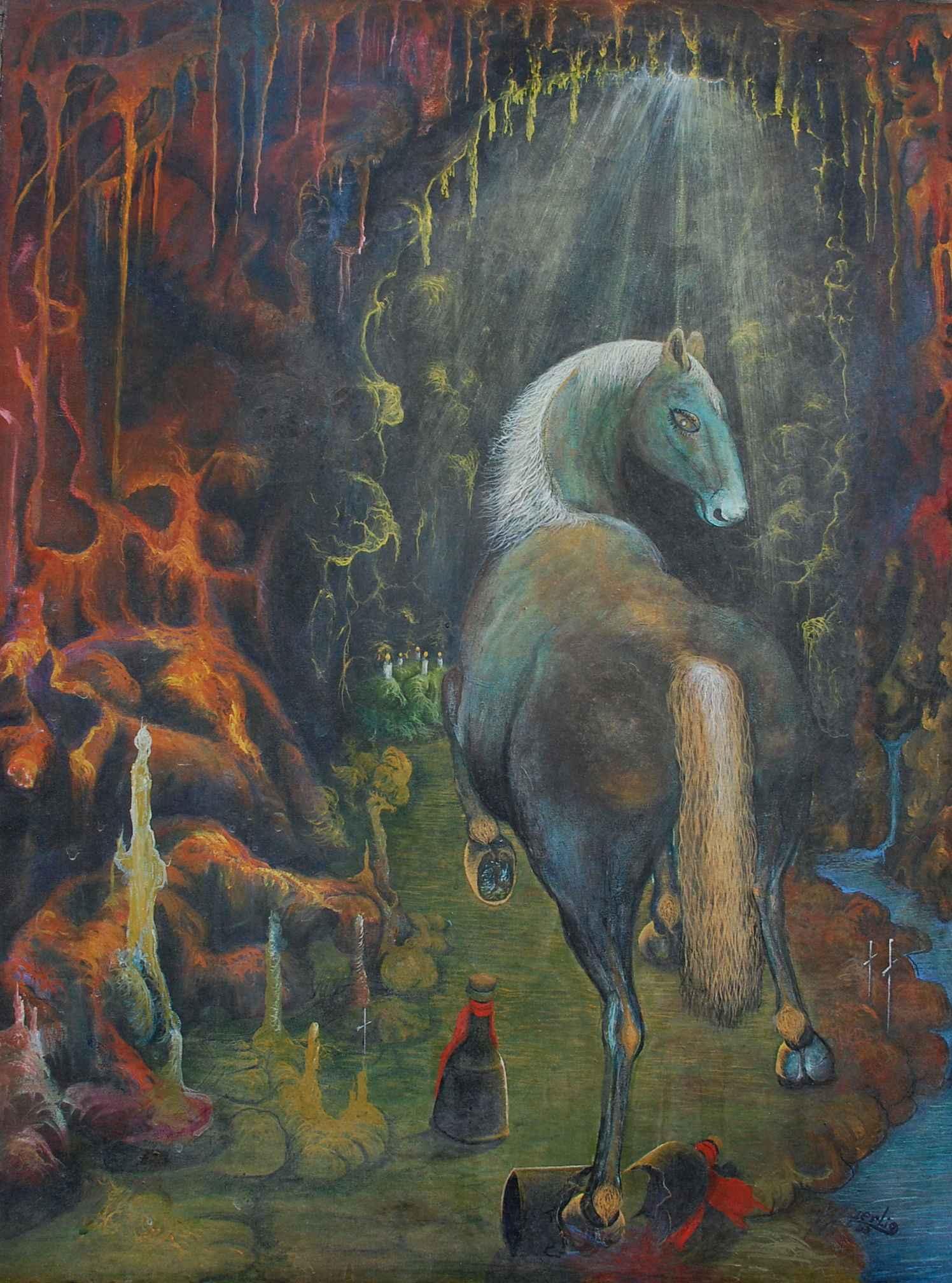 Spirit Animal by  Iguerlio DESCARDES - Masterpiece Online