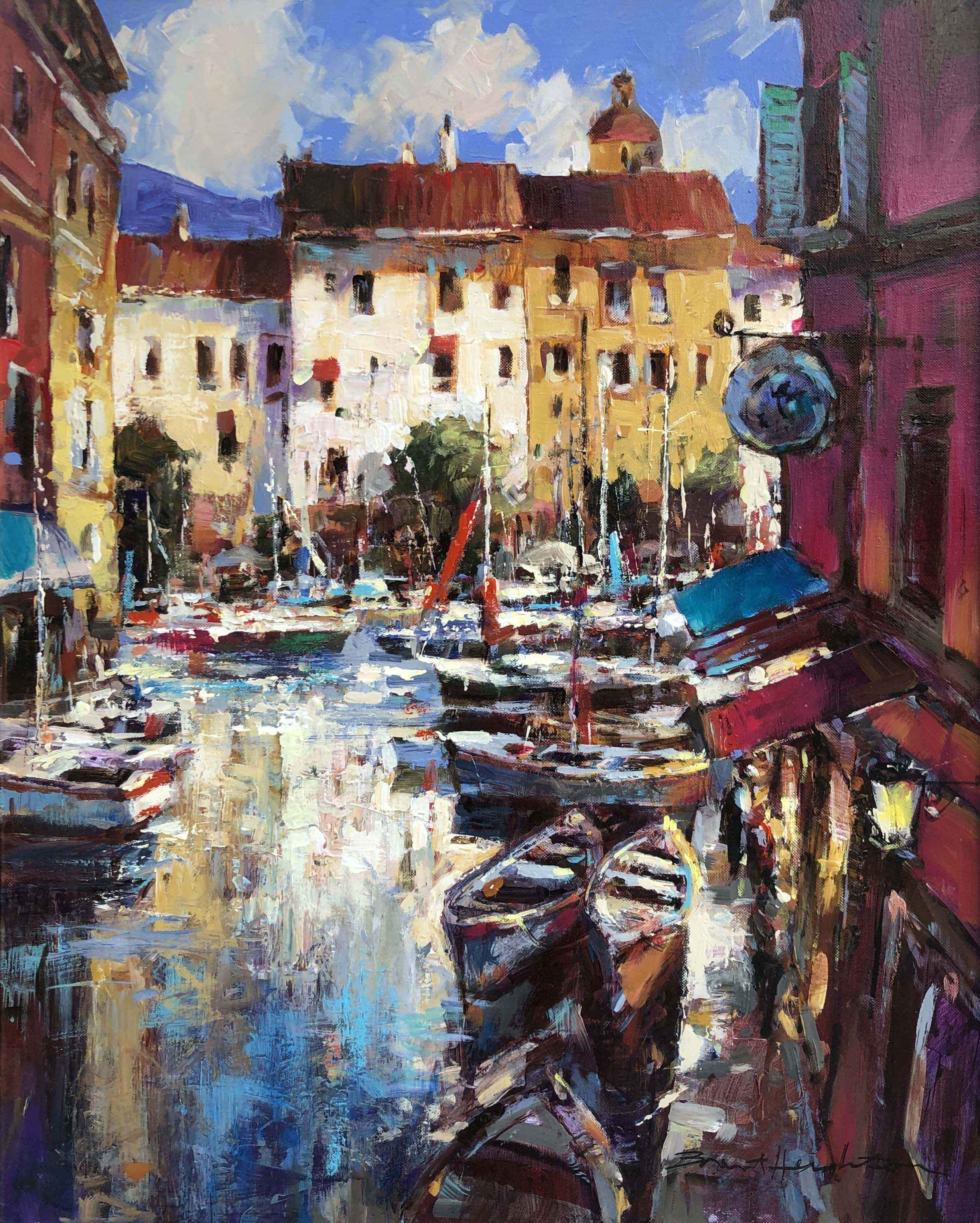 Afternoon in Antibes by  Brent Heighton - Masterpiece Online
