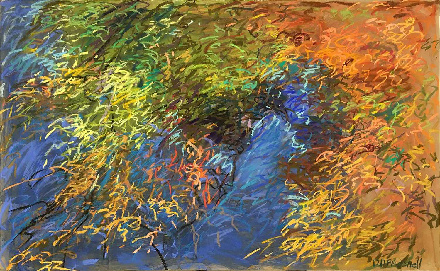 Evergreen Reflections by  Denise Presnell - Masterpiece Online