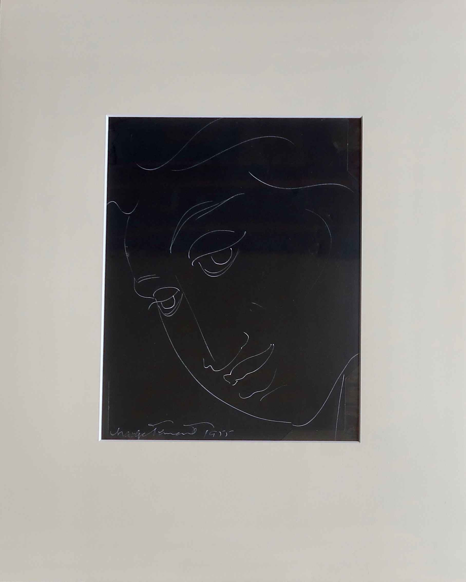 Female Face 6, Line D... by  Madge Tennent (1889-1972) - Masterpiece Online