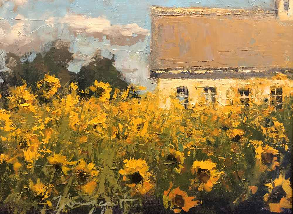 Sunflowers & Schoolho... represented  by  Romona Youngquist