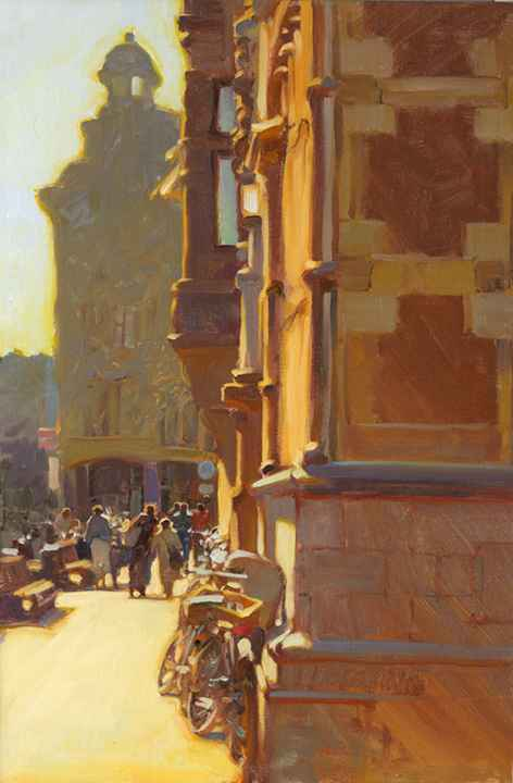 Walls of Commerce by  Kim English - Masterpiece Online