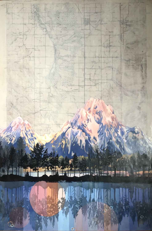 Mt. Moran by  Lindsey Erin - Masterpiece Online