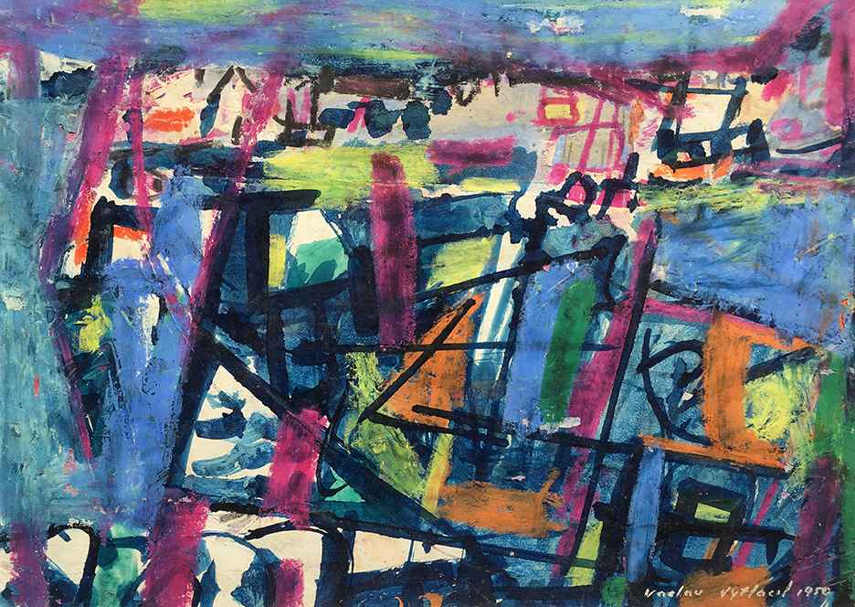 Untitled, 1950 by  Vaclav Vytlacil - Masterpiece Online