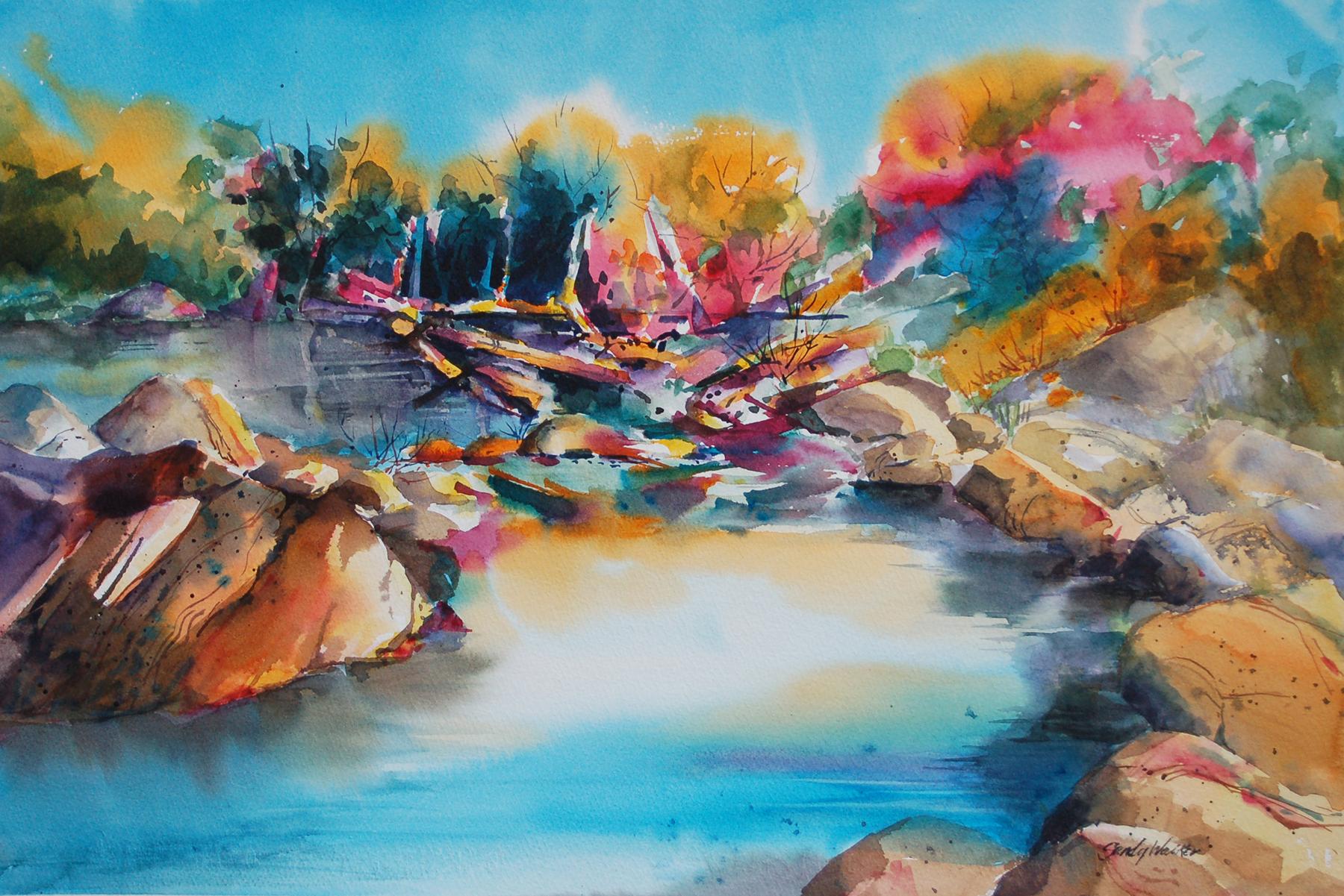 Colorful Sabino by  Sandy Walker - Masterpiece Online