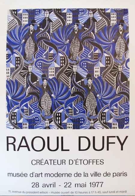 Createur d'Etoffes - ... by  Raoul Dufy - Masterpiece Online