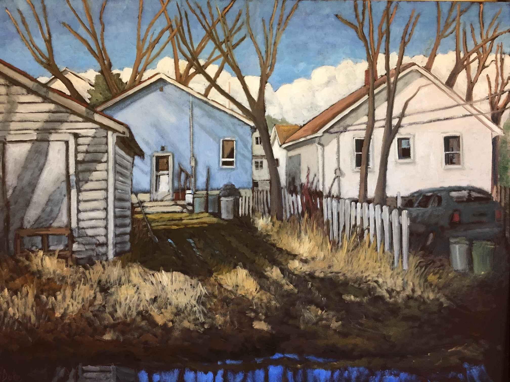The Little Blue House by  Kari Duke - Masterpiece Online