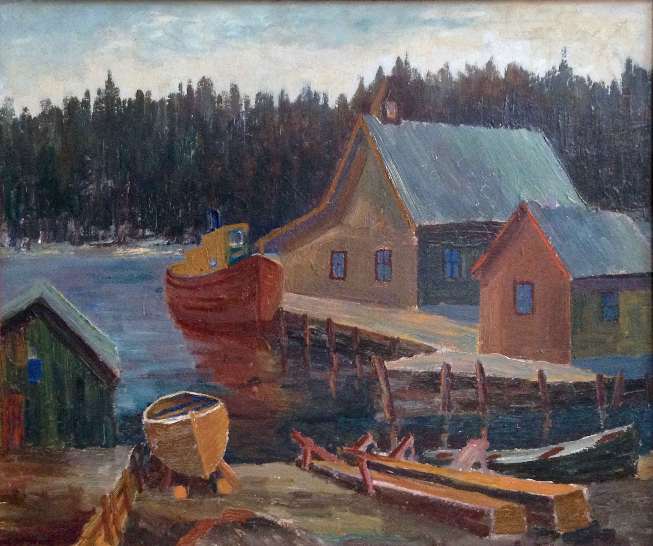 Canada-Silver Isle Do... by Mr. Morley Hicks - Masterpiece Online