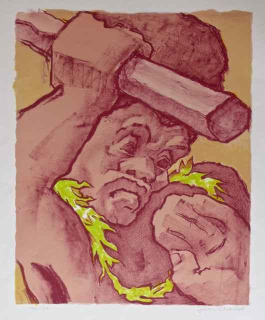 Ancient Warrior, ed. ... by  Jean Charlot (1898-1979) - Masterpiece Online