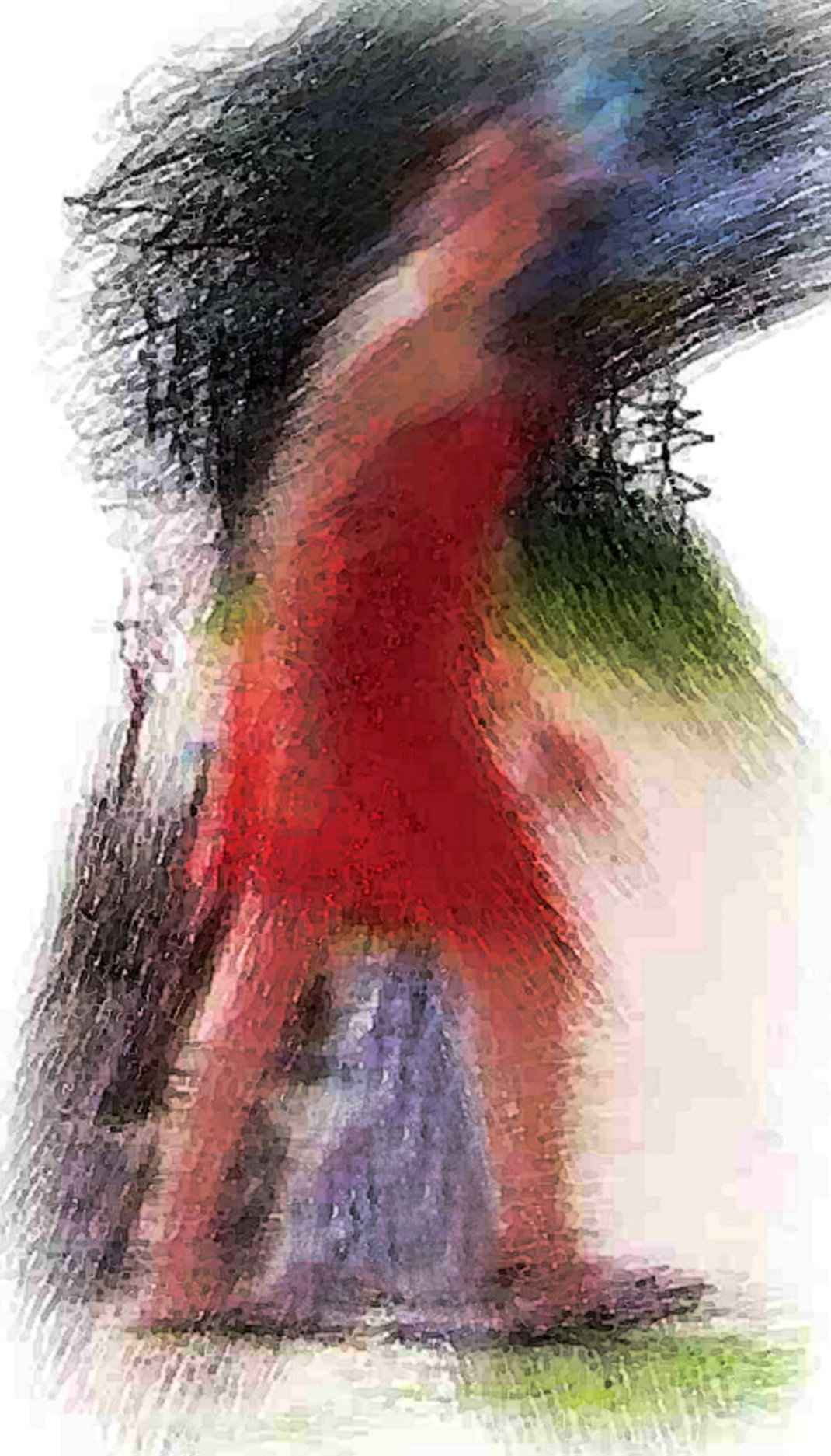 The Red Dress by  Jeff Foster - Masterpiece Online