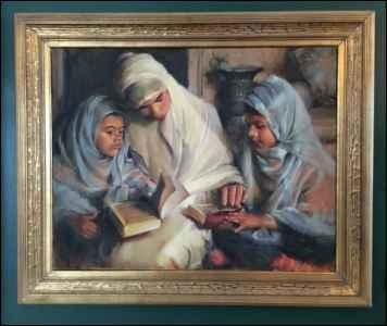 Reading the Koran by  Chuck Marshall - Masterpiece Online