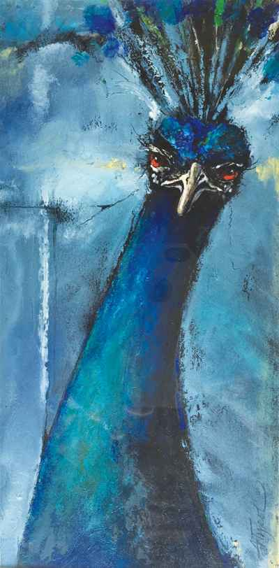 Indian Peacock by  Adelaide Tyrol - Masterpiece Online