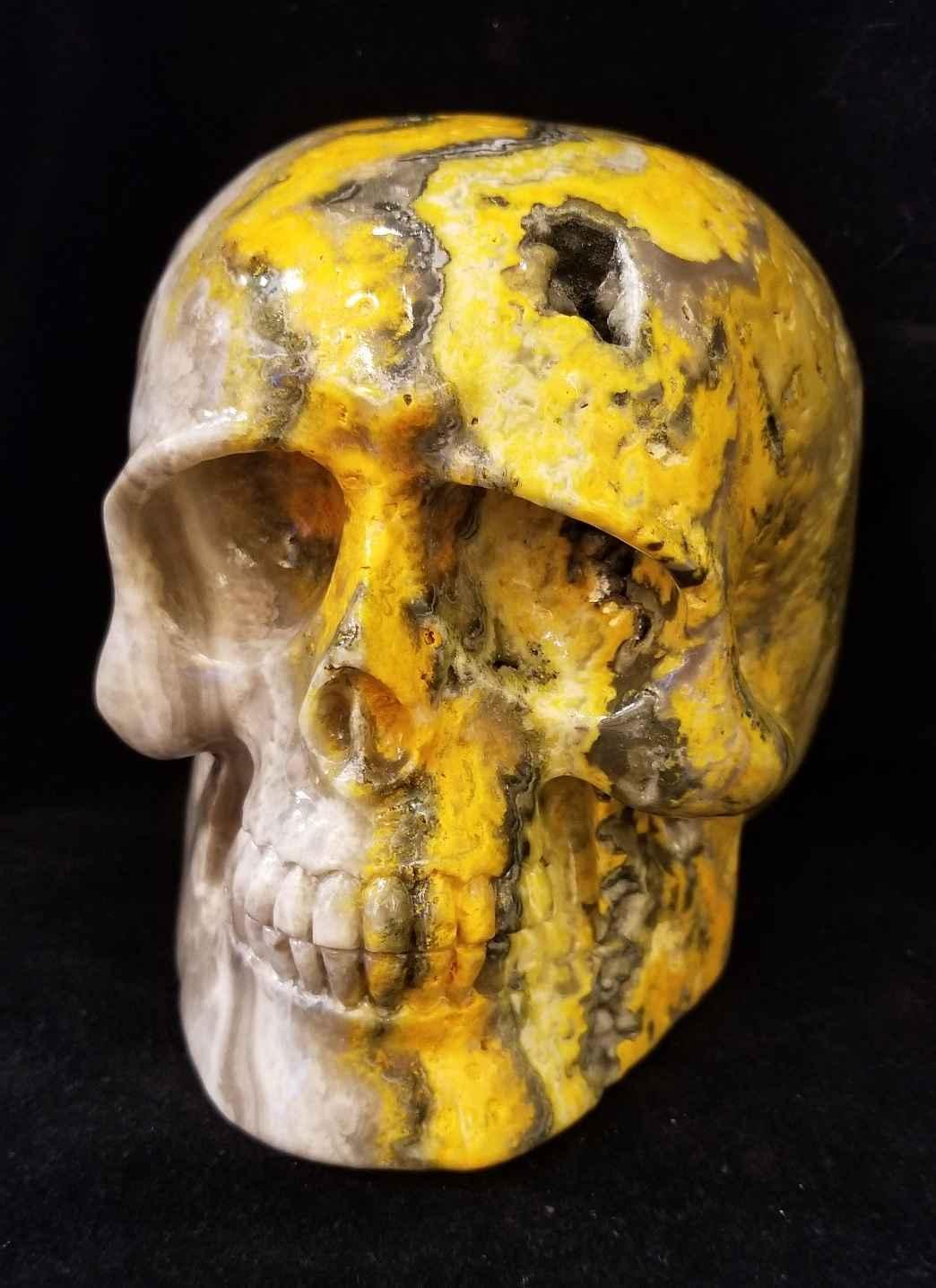 Bumblebee Jasper Skull by  Starborn  - Masterpiece Online