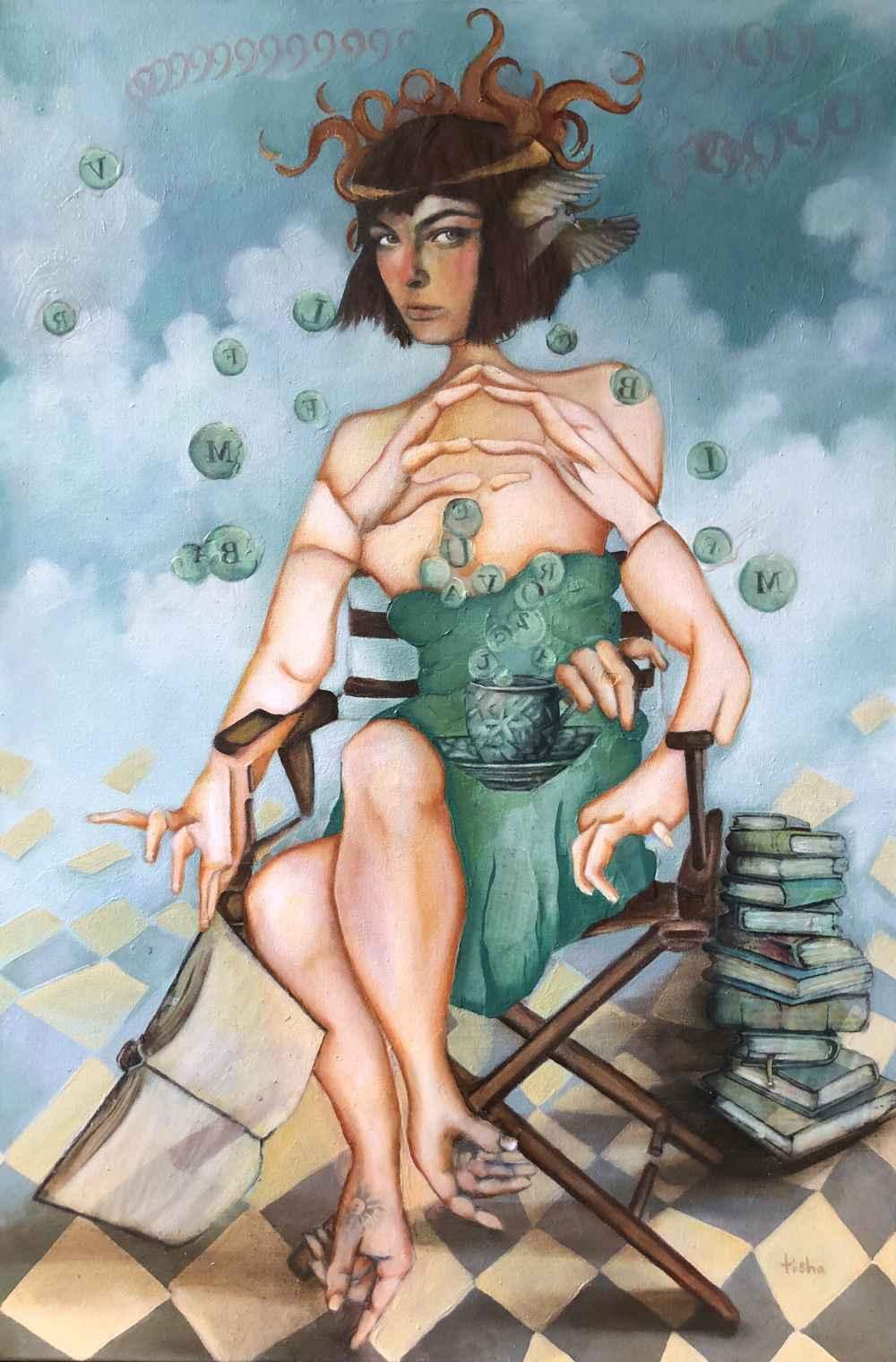 Tear Water Tea by  Tisha Weddington - Masterpiece Online