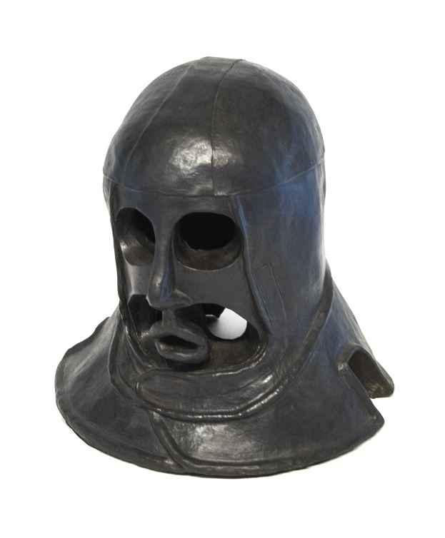 Helmet Head  3/6  (3B)  by  Helen Post