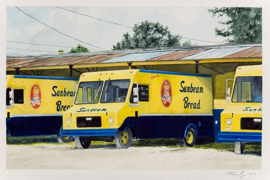 Sunbeam Truck Trio by  Tony Craig - Masterpiece Online