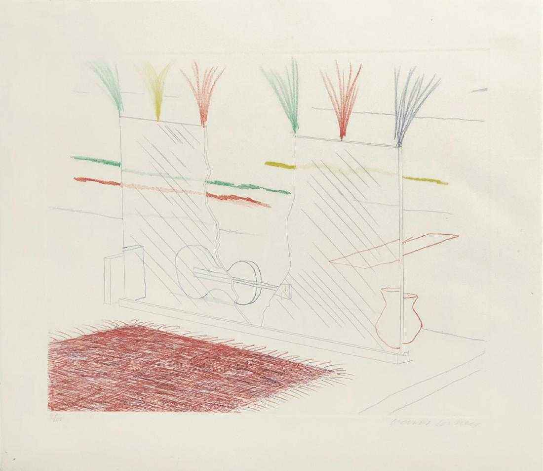 On It May Stay His Eye by  David Hockney - Masterpiece Online
