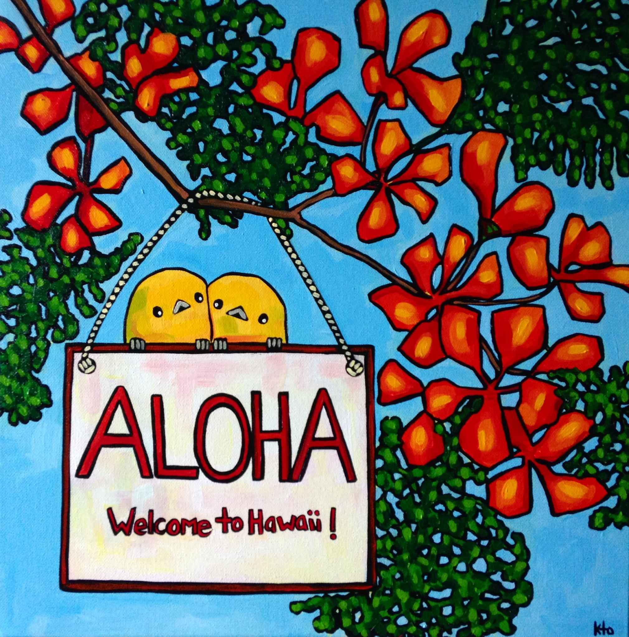 KTO Aloha Welcome to ... by   KTO - Masterpiece Online