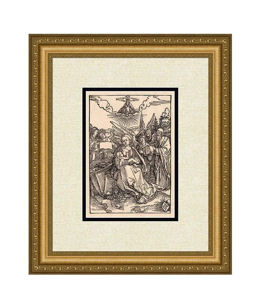 The Holy Family with ... by  Albrecht Durer - Masterpiece Online