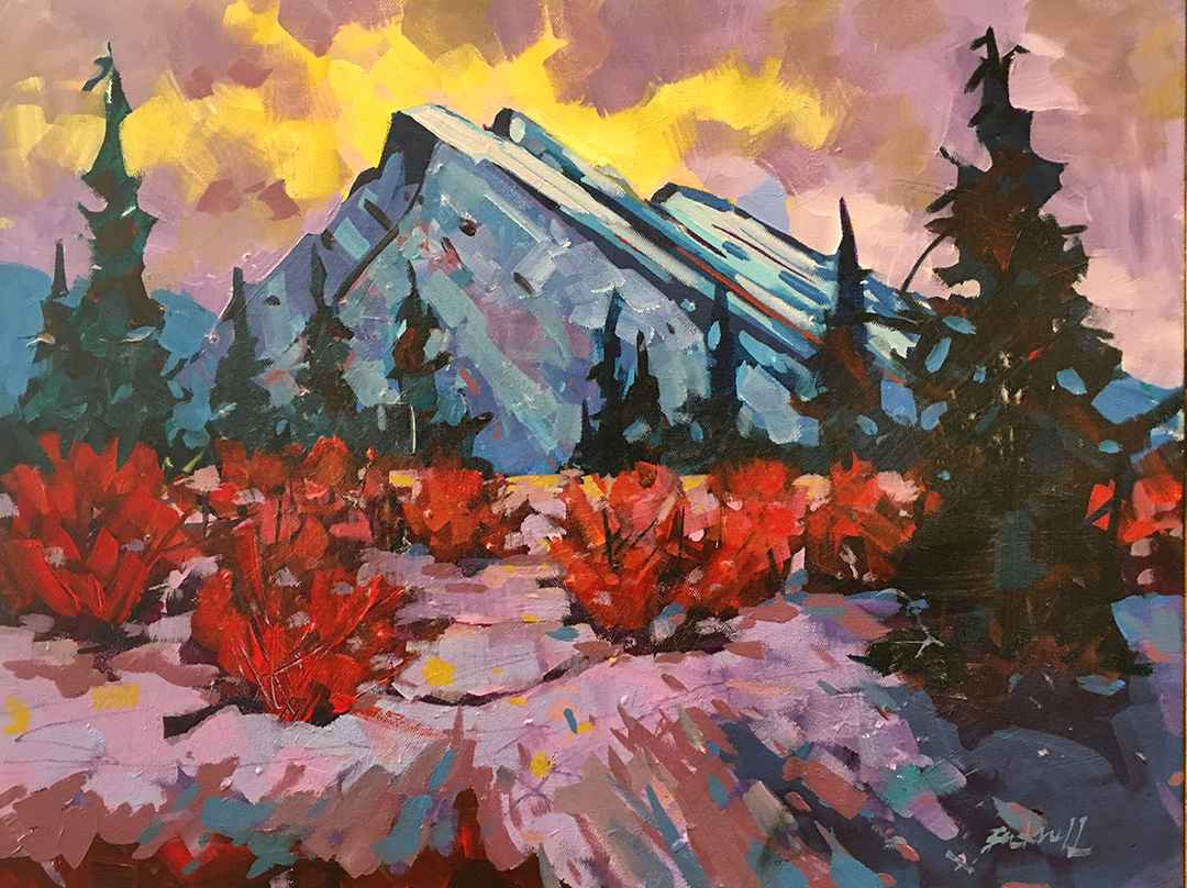 Above Rundle by  Brian Buckrell - Masterpiece Online