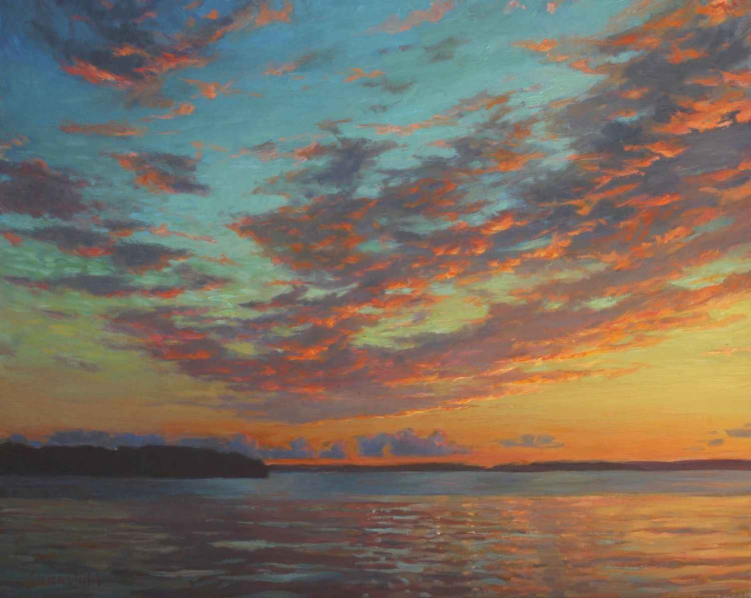 Reflections on the Bay  by  Susan Diehl