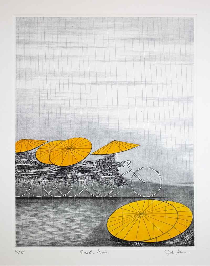 Eastern Rain by  Shigeki Kuroda - Masterpiece Online