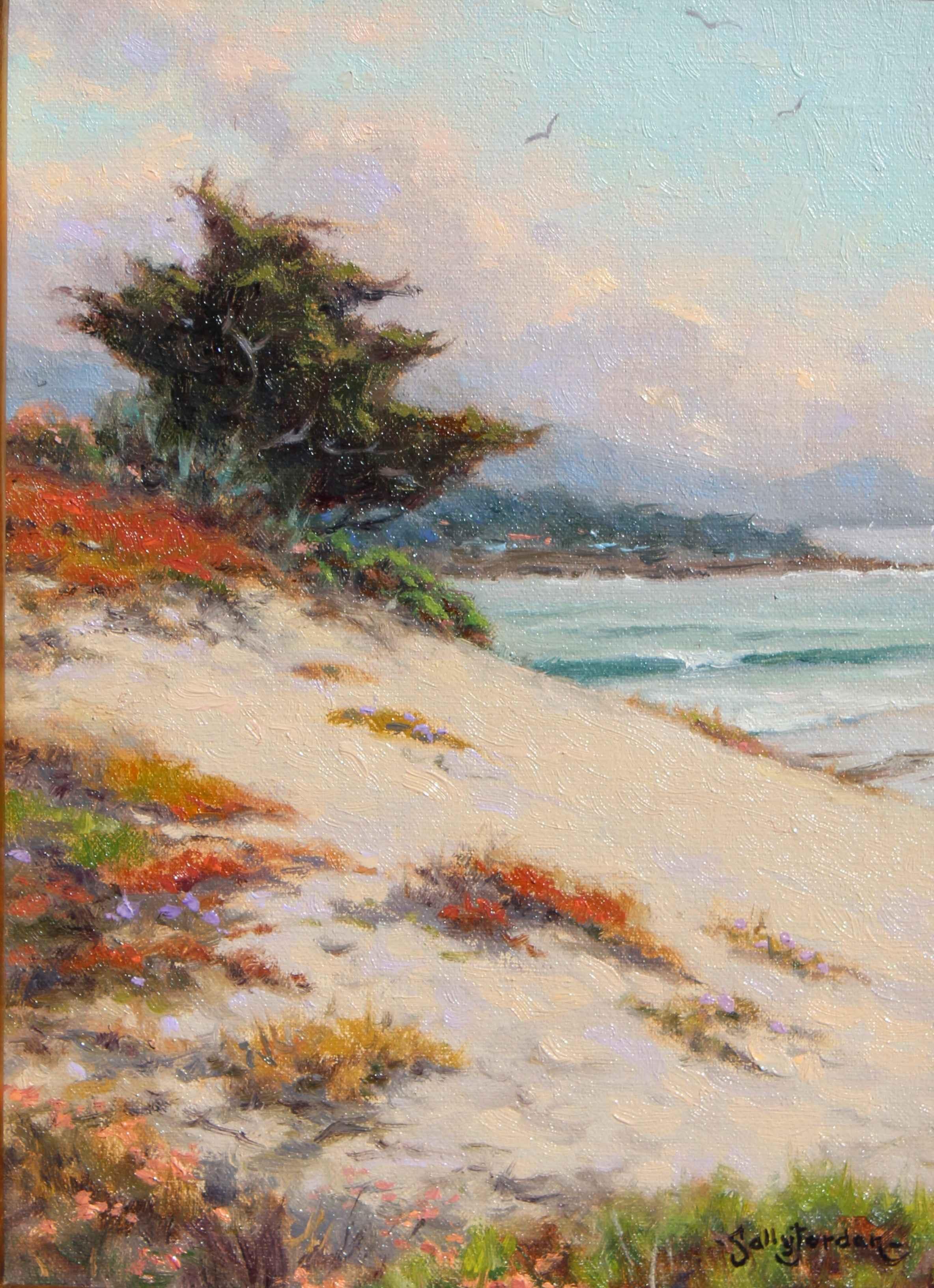White Sand & Surf  by  Sally  Jordan