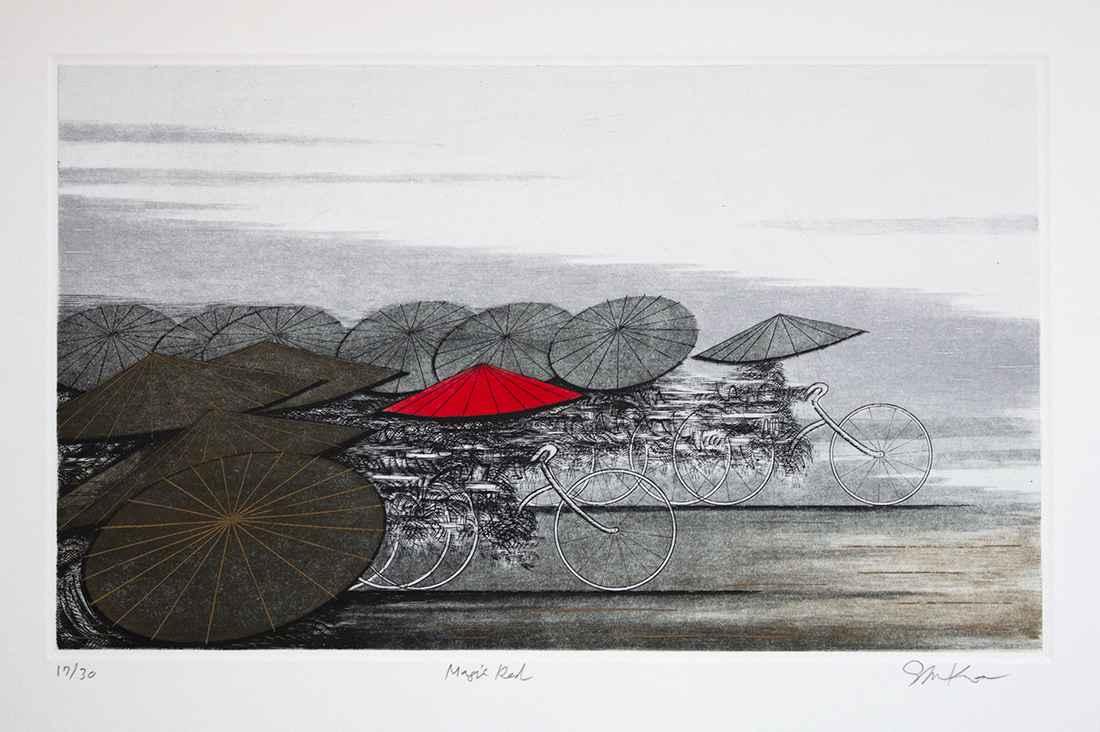Magic Red by  Shigeki Kuroda - Masterpiece Online