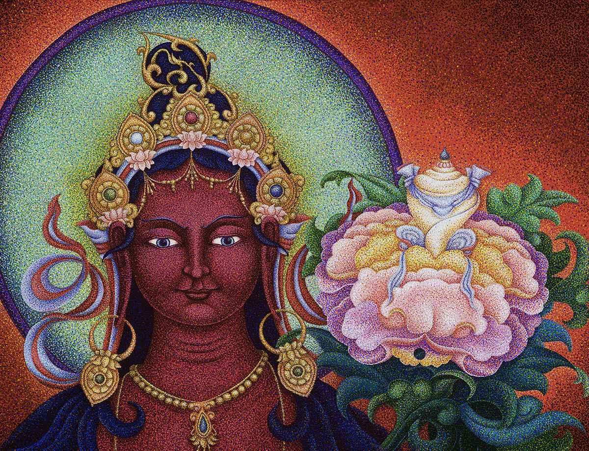 Red Tara : Tara of th... by  Sherab (Shey) Khandro - Masterpiece Online