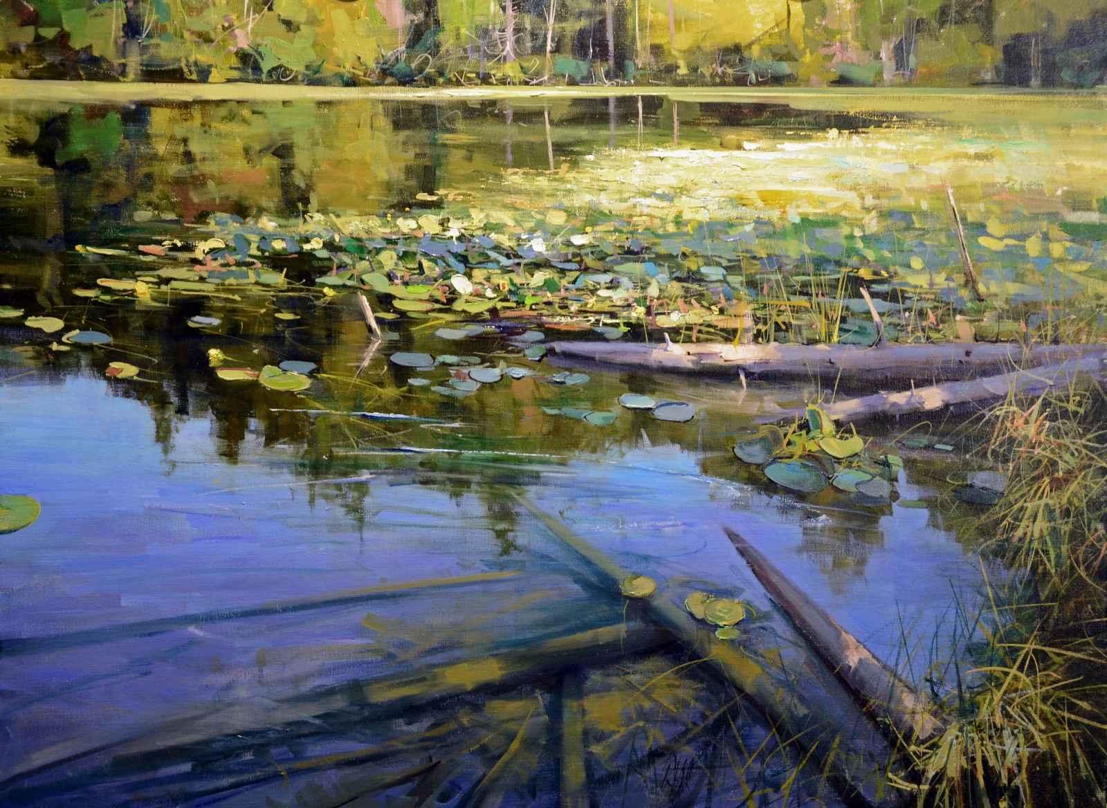 Lake Pondilla  by  Mike Wise