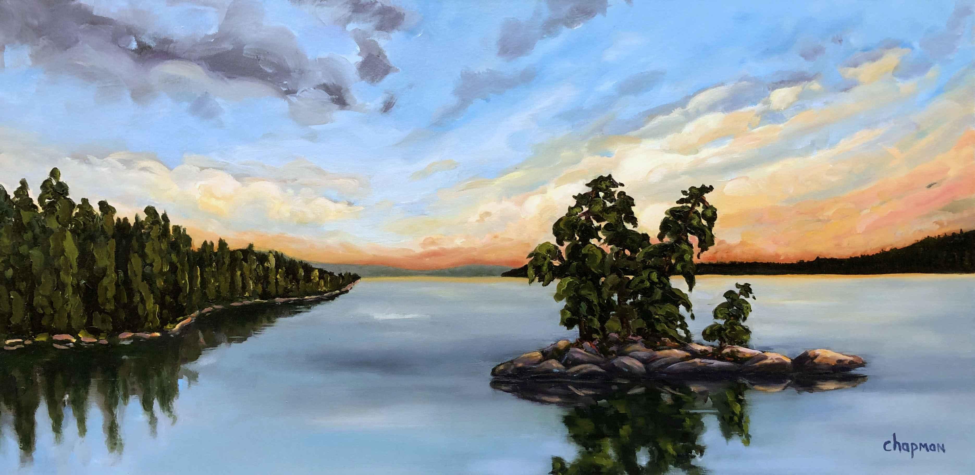 Calm Passage by  Sandra Chapman - Masterpiece Online