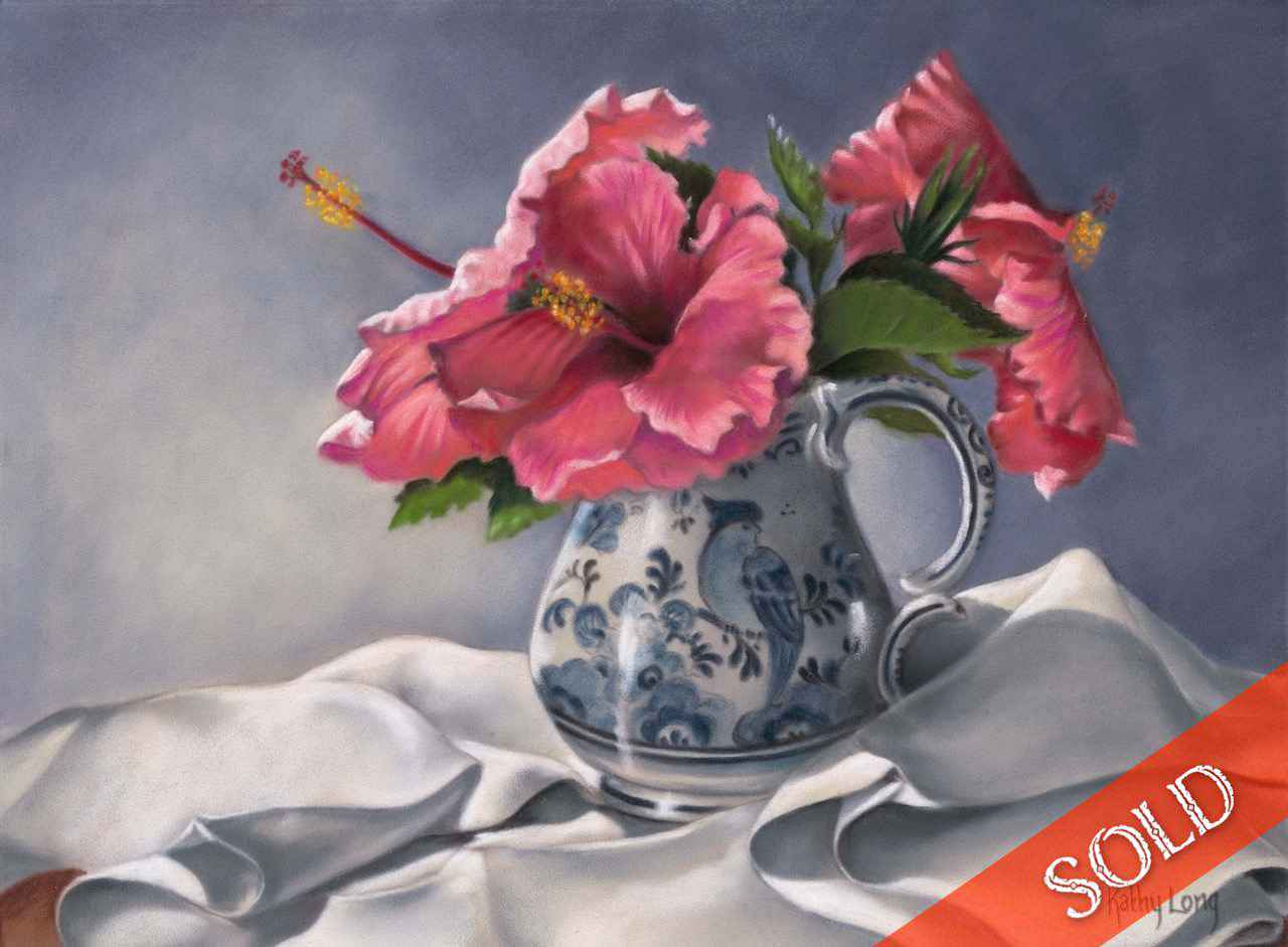 Hilo Hibiscus and Dut... by Mrs. Kathy Long - Masterpiece Online