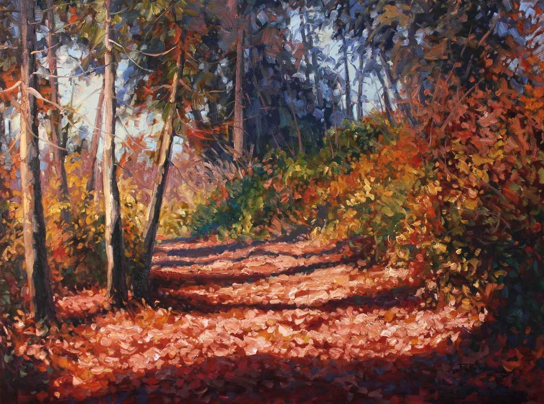 Autumn Pathway  by  Robert E. Wood