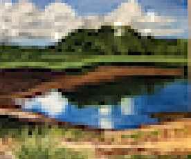Reflections at Sippie... by  Deborah Hiatt - Masterpiece Online