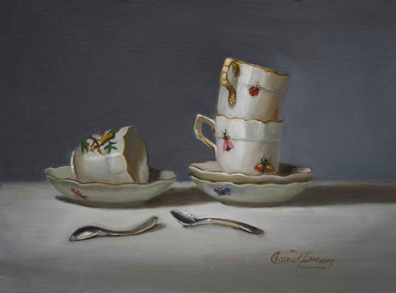 Herend Demitasse by  Cary Jurriaans - Masterpiece Online