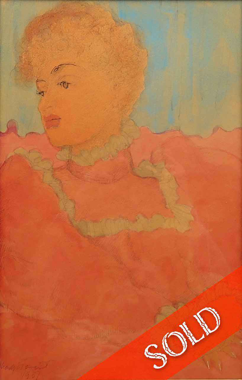 Seated Woman by  Madge Tennent (1889-1972) - Masterpiece Online