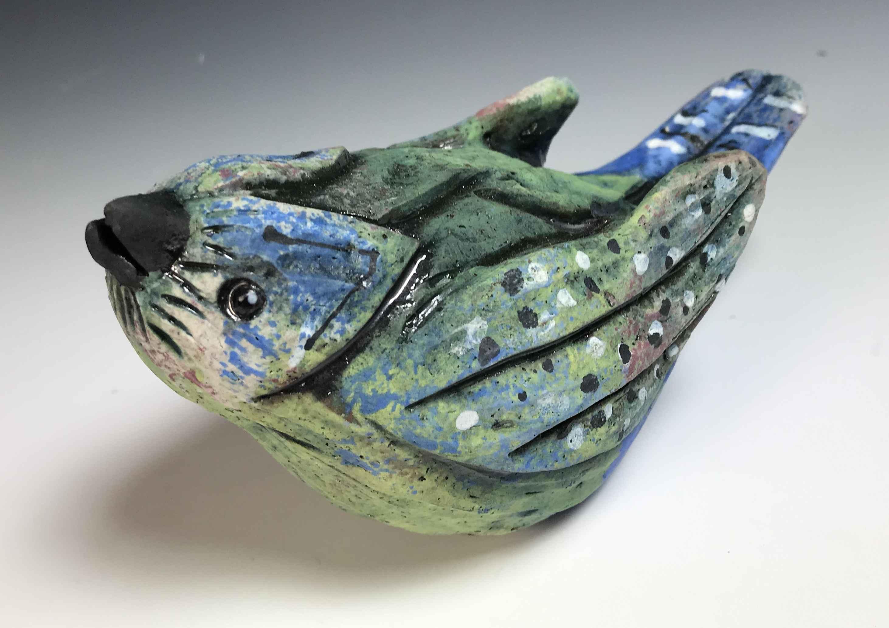 Bird (green/blue)