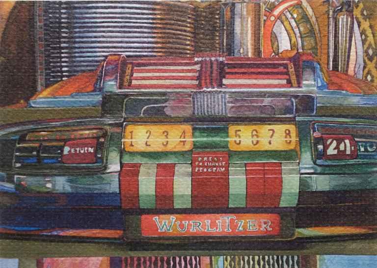 Wurlitzer by  Margaret Buie - Masterpiece Online