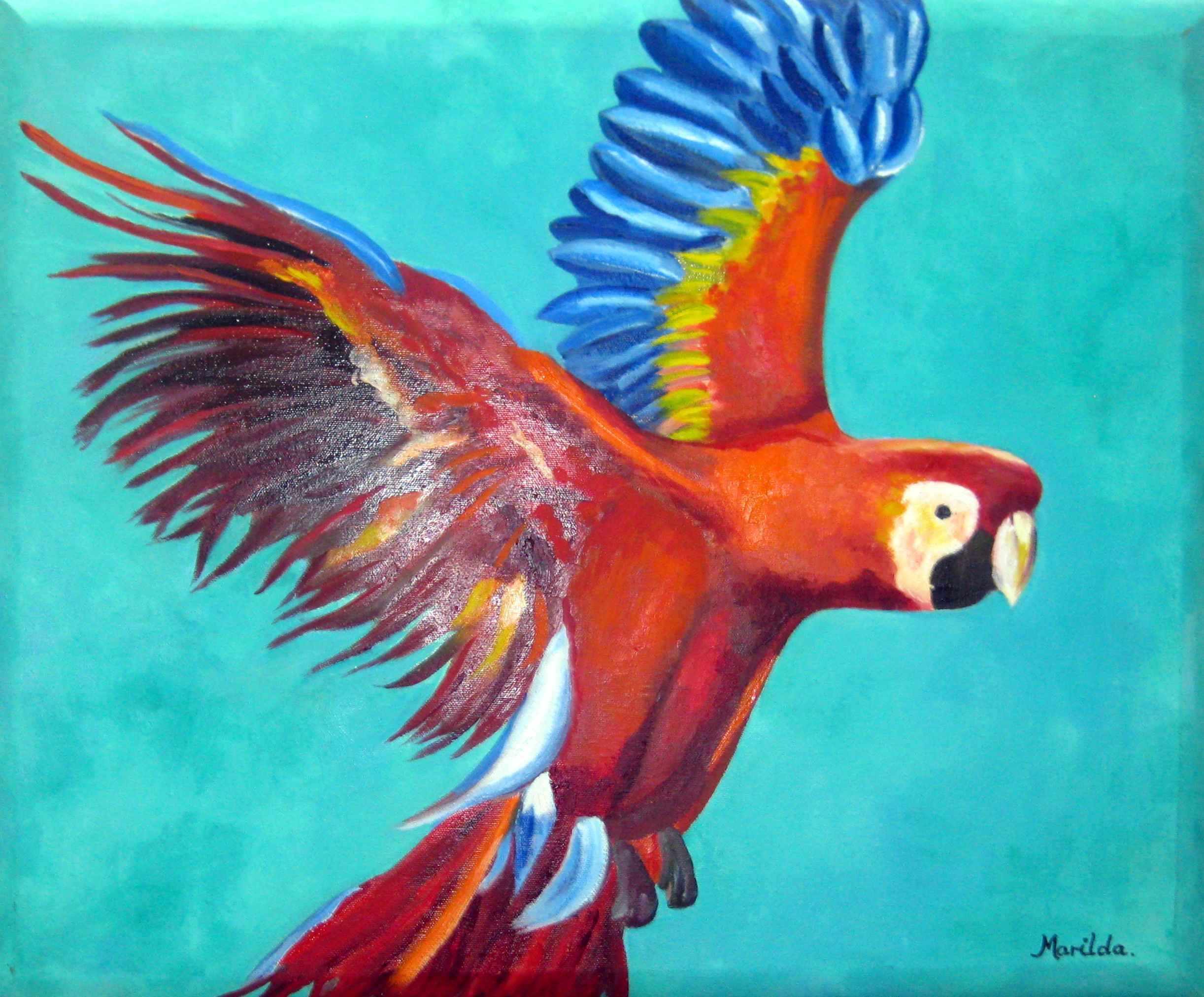 In Flight by Mrs. Marilda Weatherhead - Masterpiece Online