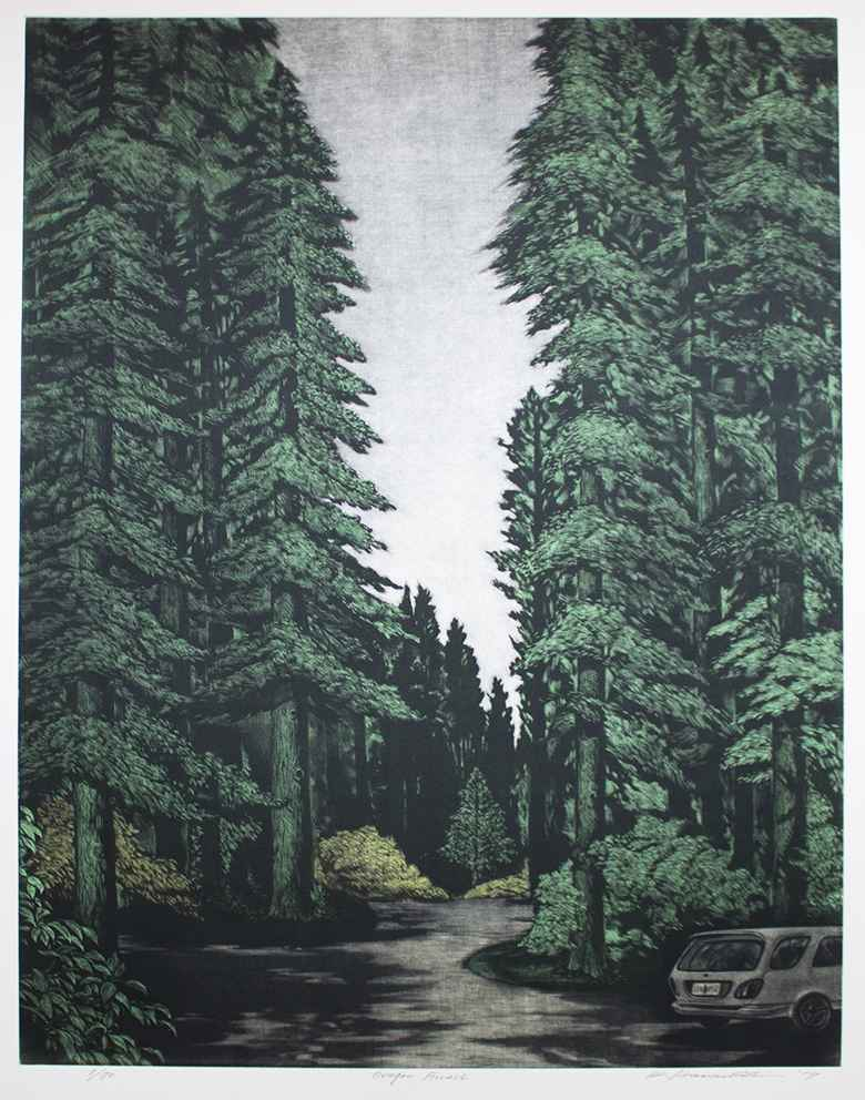 Oregon Forest by  Katsunori Hamanishi - Masterpiece Online